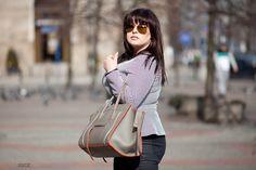DeLaFashIva fashionblogger  Plussize fashion  Peplum blouse