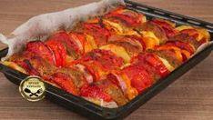 Χρυσαφένια σιροπιαστά τρίγωνα με κρέμα! Tandoori Chicken, Meat, Ethnic Recipes, Tips, Food, Essen, Meals, Yemek, Eten