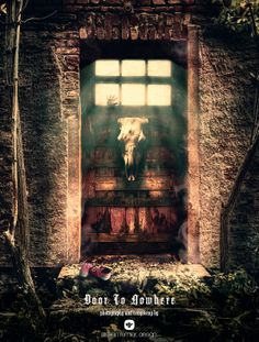 DOOR TO NOWHERE by Steffen Remter, via Behance Google+: http://www.google.com/+RemterDE Check out and love: http://society6.com/balticlapse  #dark #art #photo #manipulation #photomanipulation #steffen #remter #rostock #germany #horror #child #skull #mystical #fotomanipulation, #graphic #design #photodesign #digitalart #digital #illustration #photoshop #door #fog #light