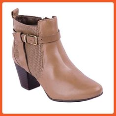Bottero Womens Leather Ankle Boots, Taupe, 7 B(M) US - Boots for women (*Amazon Partner-Link)