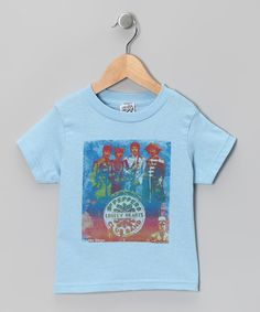 Look at this Light Blue 'Sgt. Pepper's' Beatles Tee - Toddler