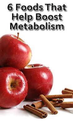 Foods Boost Metabolism
