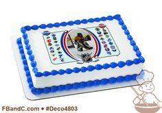 Deco4803 | NHL CENTER ICE PC FRAME | Hockey, custom, photo, sports, all teams.