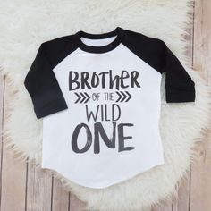 Brother OR Sister of the Wild One, Brother Shirt, Wild Sister, Wild and One Party, Two Wild, Wild Clothing, Wild Kids, Sibling Shirt by NewFriendsDesigns on Etsy https://www.etsy.com/listing/514182561/brother-or-sister-of-the-wild-one