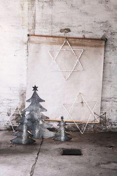 industrial christmas design  | Xmas decoration . Weihnachtsdekoration . décoration noël | @ du abu |