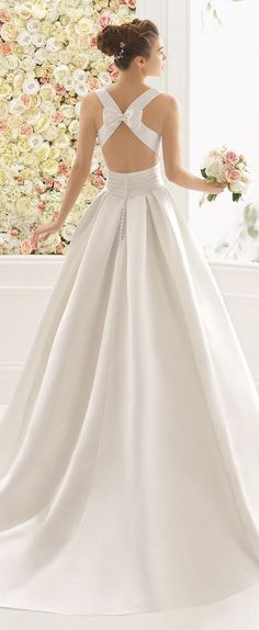 Ball Gown Wedding Dresses : Picture Description Featured Wedding Dress: Aire Barcelona; www.airebarcelona.com; Wedding dress idea. - #BallGown https://weddinglande.com/dresses/ball-gown/ball-gown-wedding-dresses-featured-wedding-dress-aire-barcelona-www-airebarcelona-com-wedding-dress-i/