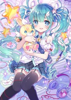 New Wallpaper Anime Manga Hatsune Miku 60 Ideas Manga Anime, Anime Chibi, Manga Girl, Girls Anime, Hetalia Anime, Miku Kawaii, Art Kawaii, Manga Kawaii, Kawaii Anime Girl