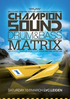 Champion Sound - Matrix by Martijn van Dam, via Behance