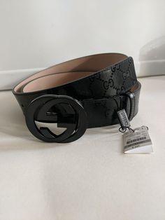 bae904a4d Gucci Black Imprime Mens Belt fits pant size 41-45 NWT #fashion #clothing  #shoes #accessories #mensaccessories #belts (ebay link)