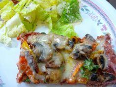 SPLENDID LOW-CARBING BY JENNIFER ELOFF: MEATZA PIZZA