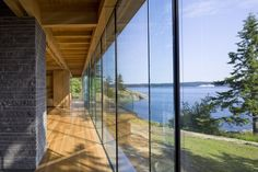 RUFproject have designed this stunning Gulf Islands Residence located in British Columbia, Canada.