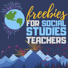 Swipe left to browse just a few of our amazing social studies freebies for middle school, high school, and homeschool teachers. We know you'll find these handy in the new year! education FREEBIES for Social Studies Teachers 6th Grade Social Studies, Social Studies Resources, Teaching Social Studies, Teaching Tools, Teacher Resources, Middle School Teachers, High School, Praxis Study, Us Geography