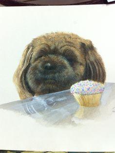 Puppy portrait, what's the next move?