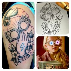 Luna Lovegood tattoo