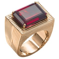 Plukka is an online store featuring the world's most creative fine jewelry and diamonds. Mens Gemstone Rings, Mens Gold Rings, Rings For Men, Mens Ring Designs, Gold Ring Designs, Men's Jewelry Rings, Gold Jewelry, Jewellery, Gents Ring