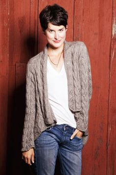 Cashmere Queen Wayside Lace Cardigan