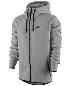 Nike Windrunner Fleece Performance Full-Zip Hoodie - Hoodies & Sweatshirts - Men - Macy's