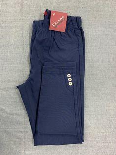 Spodnie z bengaliny Cevlar B03 kolor granatowy - Big Sister