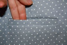 Sewing single welt pockets. Great tutorial!