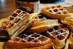 delcious, delicious, dessert, food, nutella - image #402326 on ...