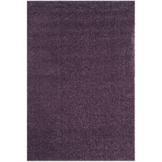 safavieh arizona shag purple shag rug 3u0027 x 5u0027 asg820p