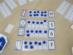 Retrouvons la classe de Grande Section en pleine activité mathématique!