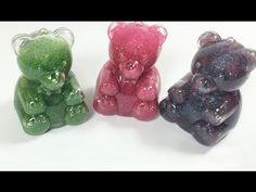 Stop motion Surprise Bear Slime Toys for kids   مفاجات سلايم العاب وتسلي...