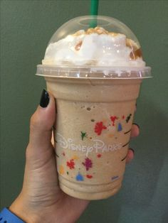 Carmel Frappuccino from Disney's Hollywood Studios