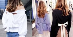 Give your edit a feminine twist this season by adopting this uber-pretty micro trend – the bow detail. From the Céline runway to the Insta feeds of fashion's hottest stars (think the likes of Tash Sefton), the bow embellishment is adding new texture and interest to otherwise simple tops, making it the perfect piece for every occasion this summer.