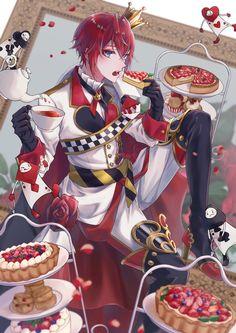 Manga Anime, Anime Art, Disney Boys, Handsome Anime Guys, Cute Anime Boy, Disney Villains, Queen Of Hearts, Riddles, Anime Couples