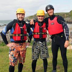 Coasteering family fun with thee Greys