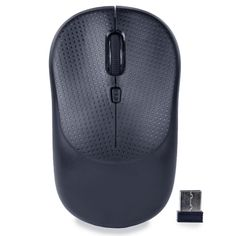 iMicro MO-RF106 2.4GHz Wireless 4-Button Optical Scroll Mouse w-Nano USB Transceiver