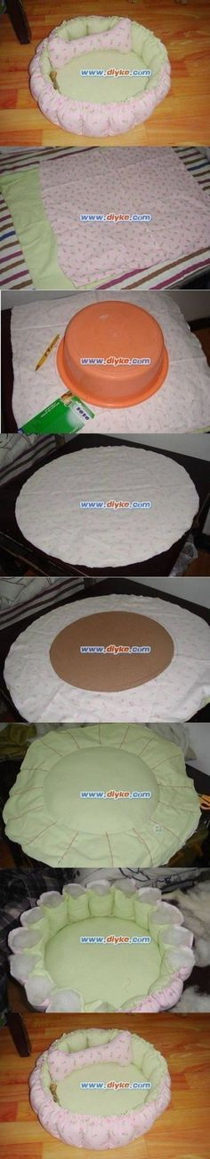 How to make Cute Cushion pet Bed step by step DIY...