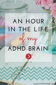 """You know when you've just wasted an hour and then you look back and suddenly stop and think, wait a second, what the HECK am I actually doing? This happens a lot to me."" A very relatable article about getting distracted when you have ADHD. Adhd Odd, Adhd And Autism, Adhd Signs, Adhd Help, Adhd Brain, Attention Deficit Disorder, Adhd Strategies, Coaching, Autism"