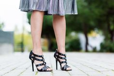 Pleated Silver Skirt falda plisada plata Crimenes de la Moda blog Maria Jesus Garnica Navarro