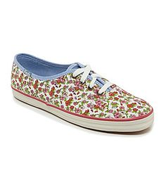 Keds Champion Floral Casual Sneakers