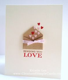 Valentine card idea- so cute!