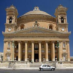 Malta - Mosta - Church exterior | by Darrell Godliman