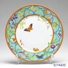 Hermes siesta island American dinner plates 27 cm