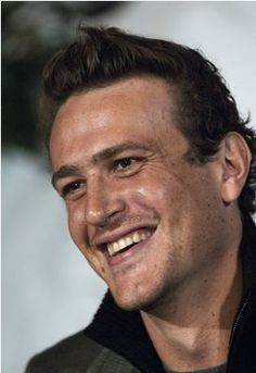 """Jason Segel - filming a scene of """"I Love You Man"""" at the Grove. Just happened to be in one of their takes :)"""