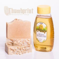 Oatmeal Milk & Honey Soap - Always a favorite, this bar contains nourishing goat's milk, exfoliating oatmeal and moisturizing honey.