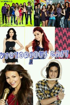 The amazing cast of victorious<<< I didn't make this ^ ~Cassidy