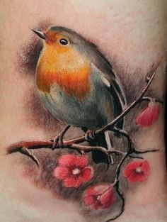 Even though its a tattoo, the work is excellent. Reminds me of starting to draw as a child. I drew birds, now I draw people, paint, photography,etc.www.lamacksart.fineartstudioonline.com (site in progress)