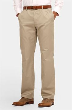 Bonobos 'Weekday Warriors' Straight Leg Chinos   Nordstrom  (i will never be a kakis fan but these aren't so bad...)