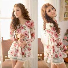 Blusa  Floral Cod 002