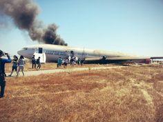 Asiana plane crashes at SFO