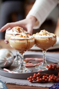 This Gingerbread Eggnog Cocktail Will Make You Forget All About Your Gingerbread House Fail - http://Delish.com