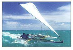 Holopuni OC3 Double Outrigger Sailing Canoes