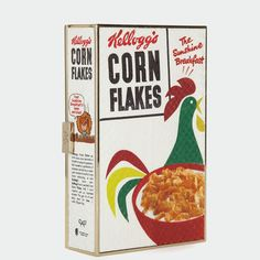 Skip breakfast and grab the Anya Hindmarch Corn Flakes Imperial Clutch instead!
