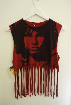 Vintage Jim Morrison Rock Tee  Rock and Roll by MydenimProject, $32.00